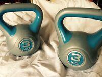 kettle bells 3kg