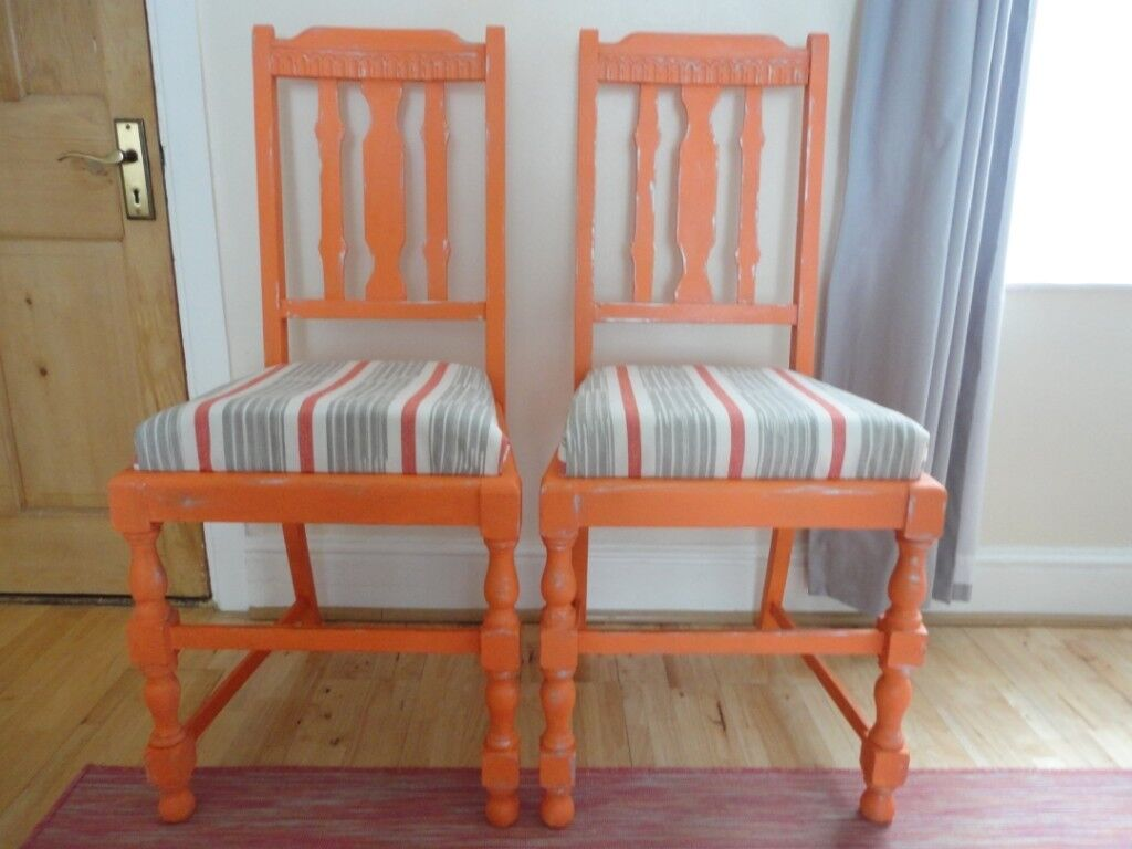 Hand painted antique chairs - Hand Painted Antique Chairs In Reading, Berkshire Gumtree