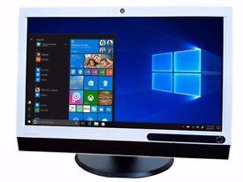 Lenovo ThinkCentre 23 inch BIG All In One PC i3- i5 3.0GHz 4Gb Ram,500 HDD webcam