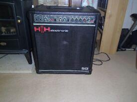 HH 50 series amp