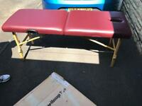 Massage/treatment couch
