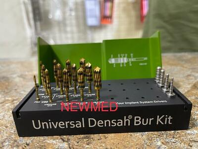 Dental Bur Drills Dental Implant Kit Surgical 17 Pcs Include 4 Guide Pins