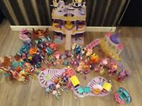 HUGE MY LITTLE PONY TOYS COLLECTION. CASTLES/PONIES/EQUESTRIA DOLLS AND MINI DOLLS & MUCH MORE