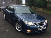 Mint 2009 SAAB 9-3 2.0T 175bhp Vector 4dr automatic petrol,trade in considered,credit cards accepted