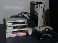 XBOX 360 120GB + All Cables + 3 controllers + Games