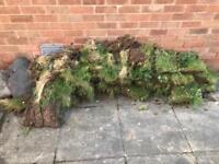 FREE GRASS BLOCKS AND LARGE STONE