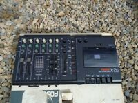 Fostex X-26 4 Track Cassette Recorder A Mixer and Highly functional 6 input (2 mic/line & 4 line)