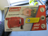 Coleman 4D Battery Quick Pump for an air mattress