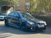 BMW 5 SERIES 535D M SPORT TWIN POWER TURBO 360 BHP STAGE 1 REMAP AUTO *FULLY LOADED* *FSH* £3500 ONO