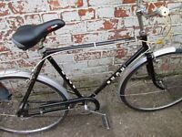 Gents 3 speed town bicycle. Puch