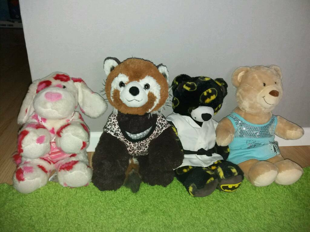 14 x Build a bear joblot
