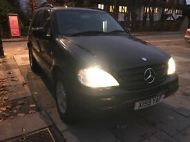 Mercedes Benz ML320 7 SEATER *DAB *TOUCHSCREEN MONITOR *AUX *AUTO *CREAM LEATHERS * QUICK SALE