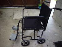 Avivo folding wheelchair