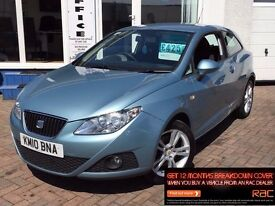 2010 10 SEAT IBIZA 1.6 TDI CR DPF SPORT COUPE SPORT~LOVELY CAR THROUGHOUT~DIESEL