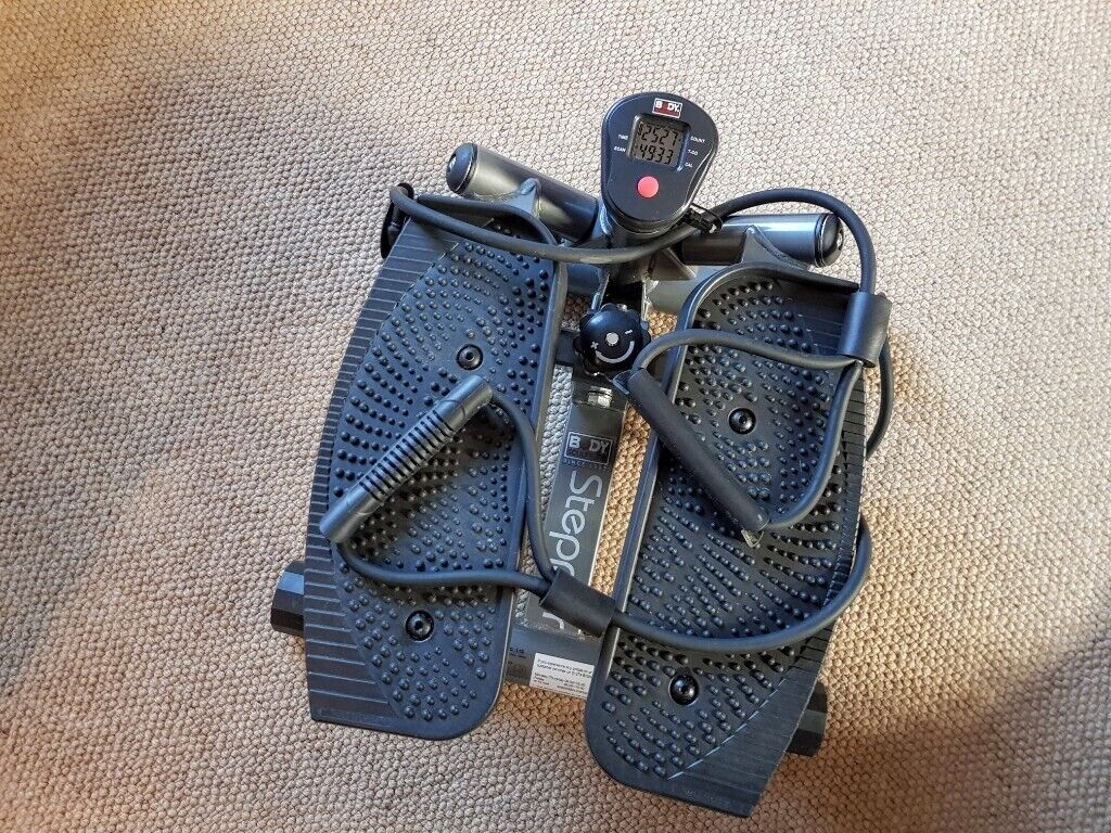 c82cb55b9d09d1 Body Sculpture BS1370 AR Twist Stepper with Bungee Cords