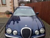 JAGUAR S-TYPE V6 3.0 SE*AUTOMATIC* FULL LEATHER INTERIOR*F/S/H*LOW MILES*MOT- 1 FULL YEAR*IMMACULATE