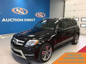 2013 Mercedes-Benz GLK-Class GLK350 4MATIC, LEATHER, PANO ROOF,