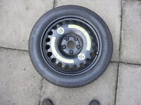Mercedes E280 (211 model) steel space saver wheel & tyre in great order