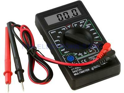 Digital Lcd Display Acdc Tester Voltmeter Ammeter Ohm Diode Digital Multimeter