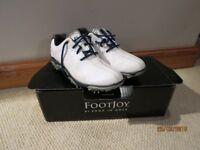 Footjoy junior golf shoes, Boys size uk4