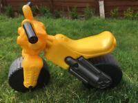 Toddler's motorbike