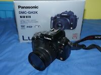 Panasonic GH2 - Compact System Camera DSLR - Amazing video Quality - BOXED