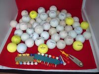 65 USED GOLF BALL (various manufacturers)