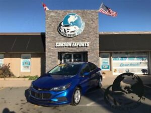 2017 Chevrolet Cruze SHARP LT! $124.00 BI-WEEKLY+TAX!