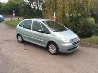 Citroen 2.0 Hdi Picasso Desire - lovely condition - new MOT - recent cambelt and full service