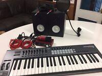 Home Recording Studio - inc. Audio Interface, Condensor Mic, Midi Keyboard etc.,