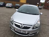 Vauxall corsa 1.2 SXI silver full service history mot until 10/1/19