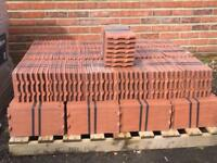 Brand new clay Rosemary roof tiles