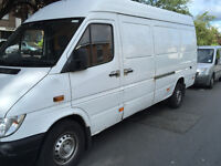Cheap Man with Van Hire Quality Service Van, -Removals Van and Man House Clearance -07436004675