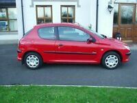 03 PEUGEOT206 1.1 # # MOT FEB + TAXED # # ONLY 55K MILES # # £650