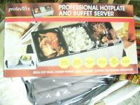 PROLECTRIX PROFESSIONAL HOT PLATE AND BUFFET SERVER ~ UNUSED