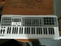 M-Audio Axiom Air 49 with case and pedal