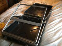 """19"""" 12U ABS Mixer Flight Case - For Rack Mount Mixing Desks"""