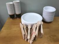 Biodegradable plates/cups/bowls/cutlery