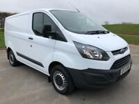 FORD TRANSIT CUSTOM 2.2 270 LR P/V 1d 124 BHP PSV DECEMBER 2018, LOW MILEAGE (white) 2014