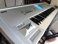 KORG TRITON STUDIO MUSIC WORKSTATION AND SAMPLER 88 KEY