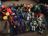 Huge bundle of toys.