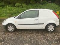 DIESEL FORD FIESTA VAN 1.4L (2008) 3 door year mot SPARES OR REPAIR
