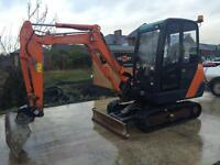 2013 Hitachi ZX27-3 Mini Digger