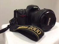 Nikon Digital SLR D300 12.3MP body only or with lens