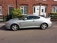 hyundai coupe / s 2002 silver petrol manual
