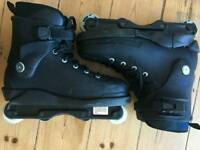 Razors Cult Street Rollerblades, Black, UK size 9, near new condition