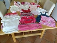 Baby girl clothes 0 - 12 months, large bundle