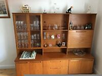 G Plan Teak Display Unit,Drinks Cabinet,and Sideboard