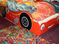 Kids Car Disney Lightning McQueen Children Bed Room