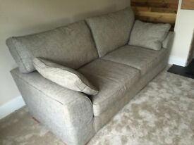 3 and 2 seater. Grey sofa. NEXT